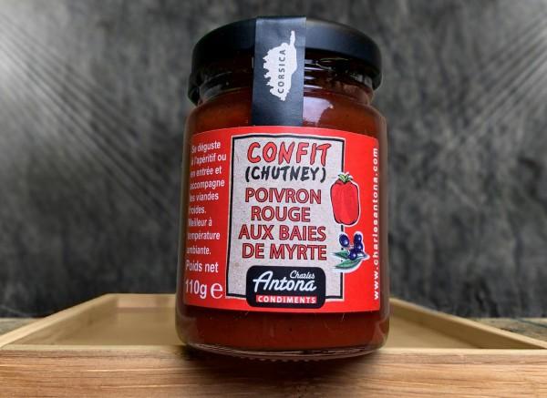Confit Poivron rouge