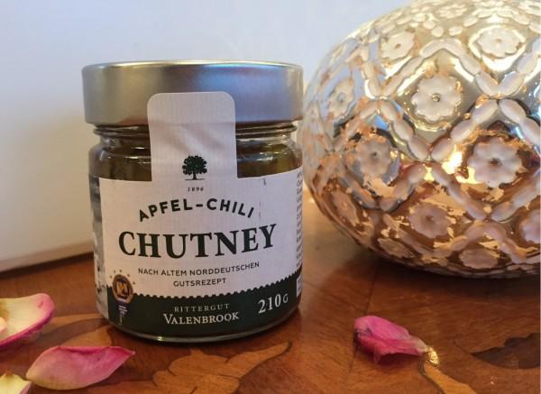Apfel-Chili Chutney