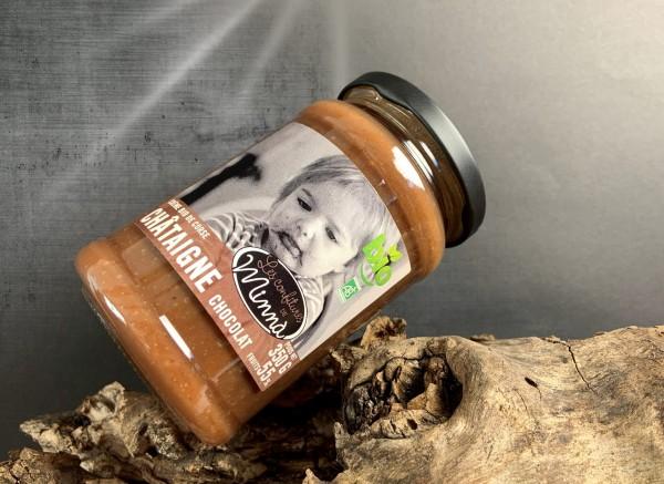 Bio-Kastaniencreme mit Schokolade